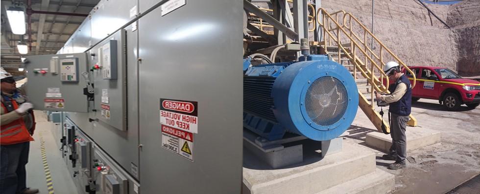 Termografia en motores industriales